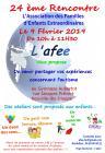 24ème rencontre de l'association L'afee - 09/02/2019 (10h-11h30) - Neuville-les-Dieppe (76)